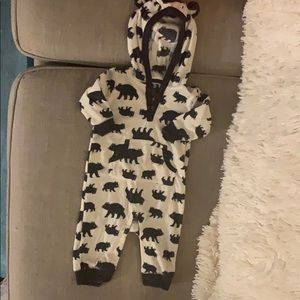 Carters - Fleece Bear Pajamas